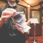 Alex Kazam With Cards
